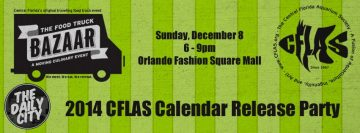 We've Teamed Up with Our Sponsor, the Daily City: the Orlando Arts & Culture Site, Producer Of the Food Truck Bazaar to Host The central Florida Aquarium Society – Cflas.org 2014 Cflas Calendar Release Party!…