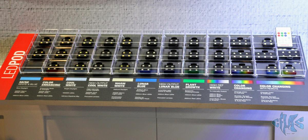 4c1f6b87dbbb Marineland's Essential LED POD Modular Lighting Shines at Global Pet ...