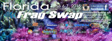 Florida Frag Swap Kicks off Again in Weston, Florida, June 6-7th, 11am - 5pm