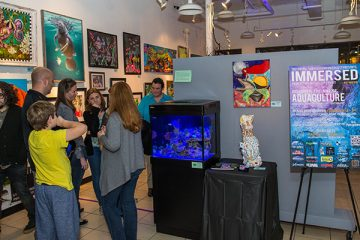 This Year's immersed Aquaculture Art Gallery Exhibit Opened to Rave Reviews, increased Attendance, and Featured Nearly 300 Gallons of Aquarium Installations, Designed by Central Florida Aquatic Businesses. For the Past 2 Years,…