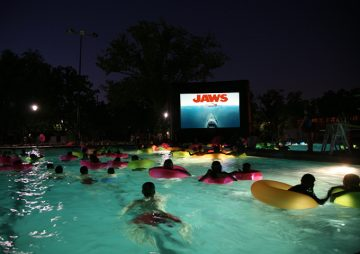 Food, Fun, and Swimming Under the Stars