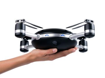First Throw-and-go Selfie Drone Startup Launched, Shoots Video and Photos from the Air