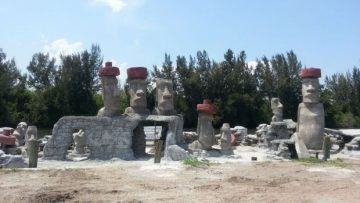 Reef Art Project Featuring Easter Island Sculptures Coming to Deerfield Beach, Florida