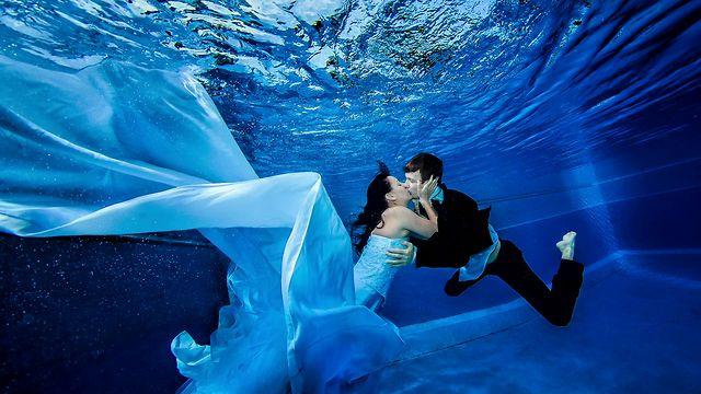 Underwater Wedding Photoshoots Cflas